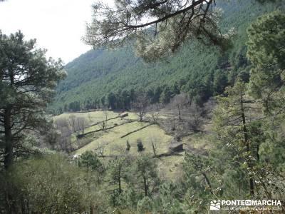 Cascadas de Gavilanes - Pedro Bernardo;senda del oso nacimiento del rio mundo crampones